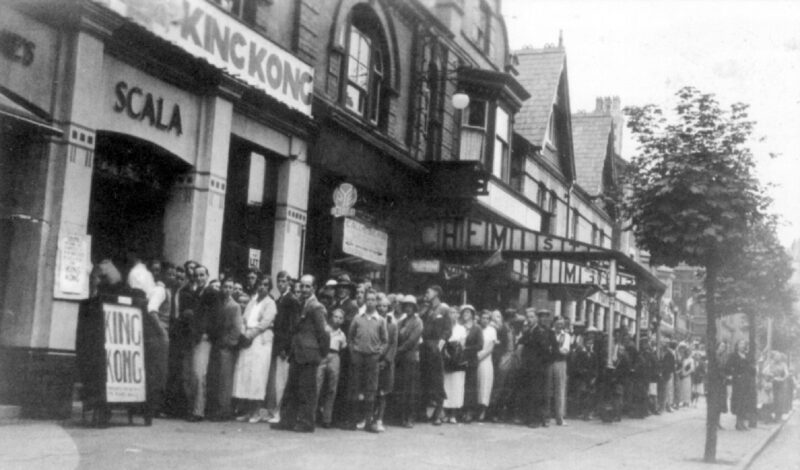 The film King Kong had its North Wales premier at the Scala in 1933.