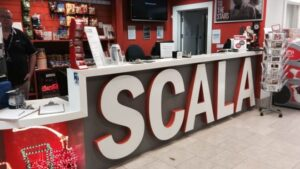 The Scala was given a £3.5m facelift when it reopened its doors in 2009 after closing in 2000. (Credit BBC)